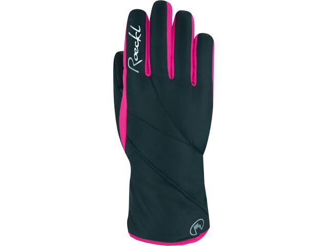 Roeckl Atlas GTX Gloves Kids black/pink